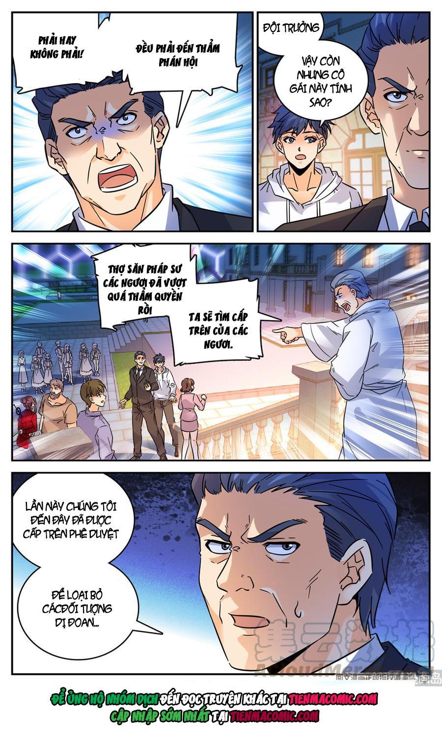 Toàn Chức Pháp Sư chap 554 - Trang 8