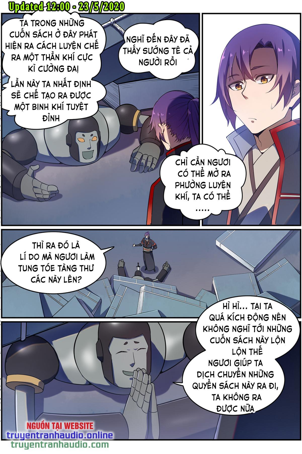 Bách Luyện Thành Thần chap 569 - Trang 2