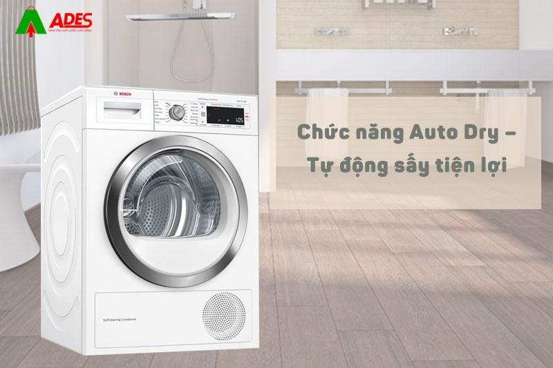 Chuc nang Auto Dry - Tu dong say