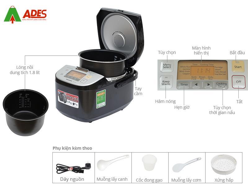 Cau tao Noi com dien Panasonic SR-ZX185KRAM