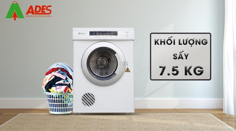 Khoi luong say 7,5 kg